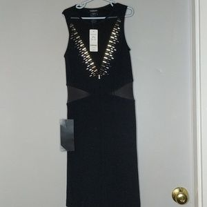 Bebe black bodycon dress | Sz P/S